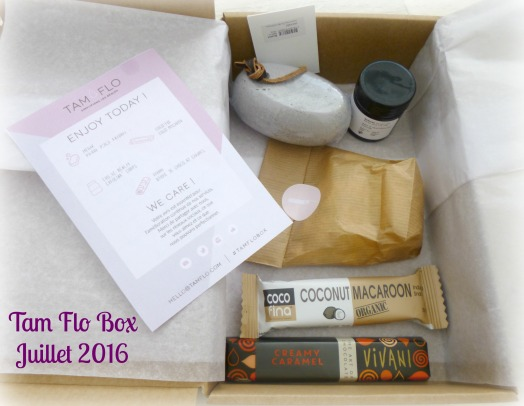 Tam Flo Box Juillet 2016