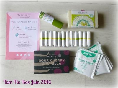 Tam Flo Box Juin 2016