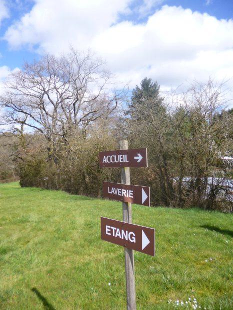 Chalets de la Plaine - signalisation